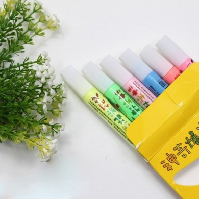 Magic Colour DIY Bubble Popcorn Drawing Pens 6 PCS