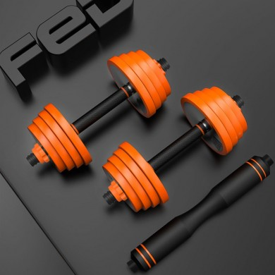 ALIMENTADOS Pure Steel Home Aptitud Dumbbell Barbell Multifuncional al aire libre Sports Aptitud Equipo