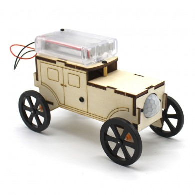 DIY Smart Robot Car STEAM Body Induction Educational Kit Robot Toy