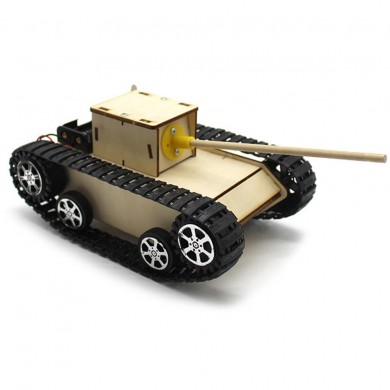 Smart DIY Robot Tank STEAM Kit éducatif Robot Jouet