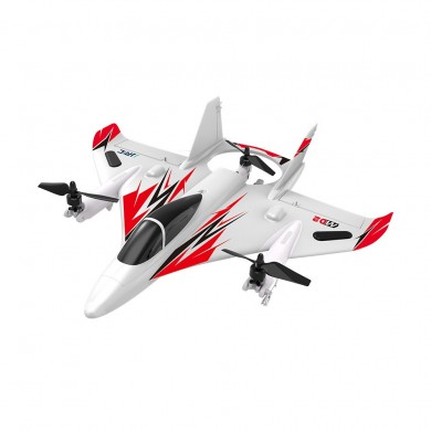 JJRC M02 2.4G 6CH 450mm Envergure EPO gyroscopique sans brosse 6 axes gyroscopique Aerobatic Avion en mode RTF 3D / 6G