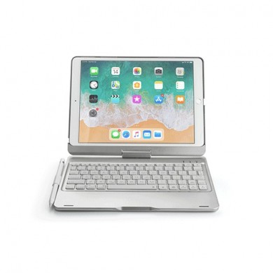 360º Rotation bluetooth Wireless Tablet Keyboard Protective Case With Pencil Holder For iPad Pro 10.5 Inch 2017/iPad Air 10.5 In