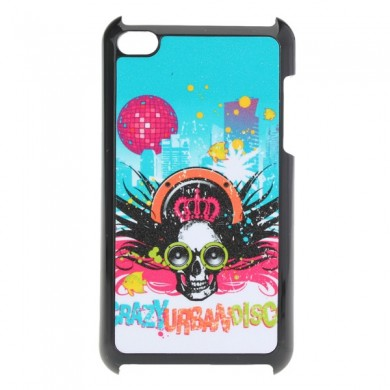 Colorful Cool Frosted Skeleton Head Design Case For iPod Touch 4 4G