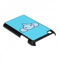Super Cute Cartoon Elephant Blue Hard Case For iPod Touch 4 4G