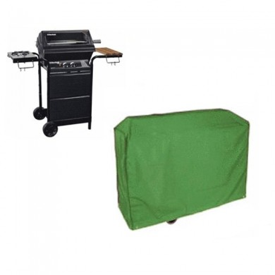 Green BBQ Barbecue Grill Waterproof Cover Bag BBQ Gas Grill Protection
