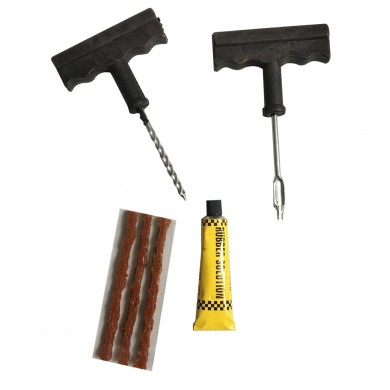 Car Tire Repair Kit 6-Piece Repair Tool Set Car Motorcycle Battery Car Tire Repair Tool Puncture Plug