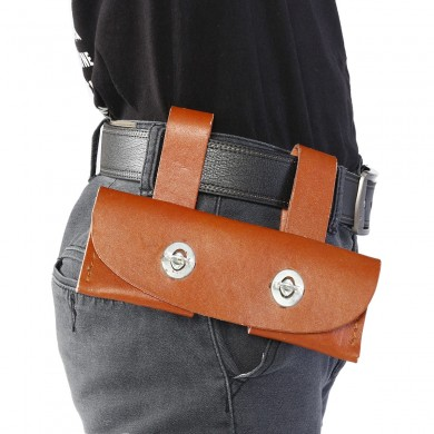 Tool Leather Sheath Waist Holster Cover Fire Protection Rescue its 2.25 lb. Tools Waist Bag