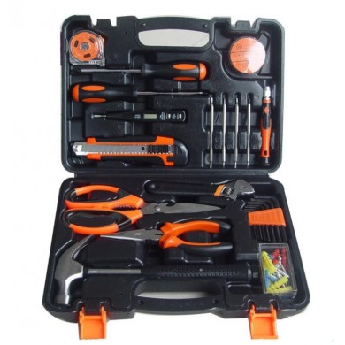 45Pcs Household Combination Kit Gift Set Hardware Toolbox Wide Application Hand Tool General Household Tools Kit