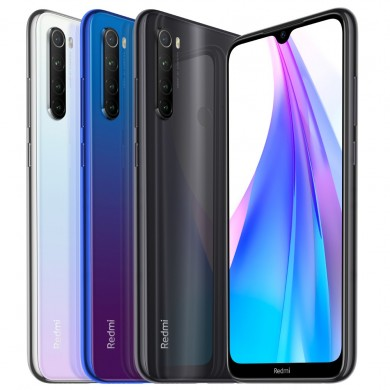 Xiaomi Redmi Nota 8T Global Version 6,3 polegadas NFC 48MP Câmera traseira quad 3GB 32GB 4000mAh Snapdragon 665 Octa core 4G Sma
