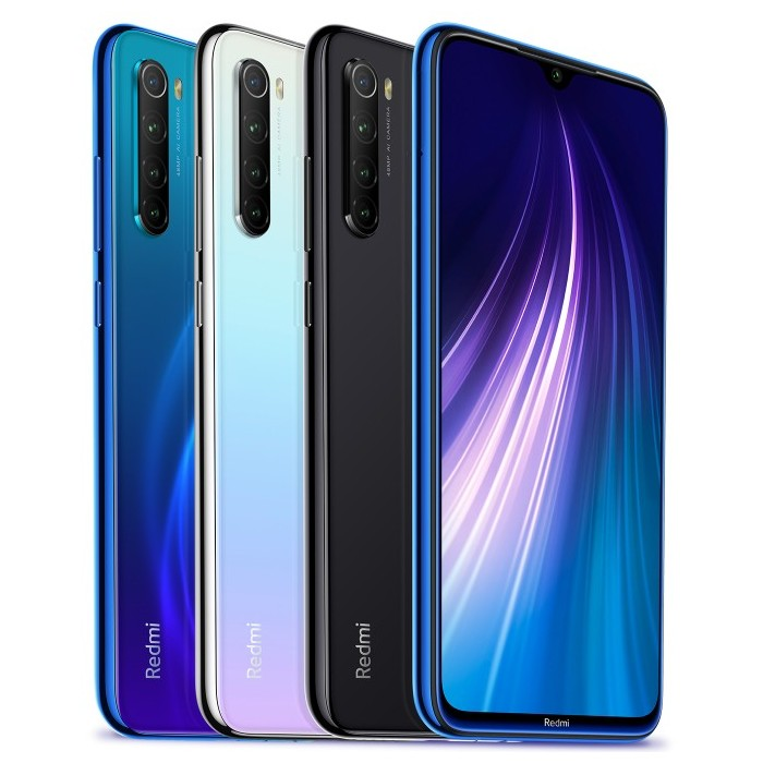 Xiaomi Redmi Note 8 Global Version 6,3 polegadas 48MP Quad Rear Camera 3GB 32GB 4000mAh Snapdragon 665 Octa core 4G Smartphone