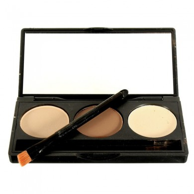 3 Colors Makeup Concealer Palette Face Facial Cream Contour Professional Beauty Tools
