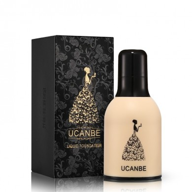 UCANBE Foundation Liquid Maquillaje Concealer Contour BB Crema Impermeable Full Cover Blend Long Lasting
