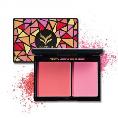 Face Palette Maquillaje Rosa Blusher