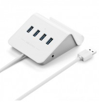 Ugreen High Speed 4 Ports USB 3.0 HUB with Power Adapter Supports OTG Function