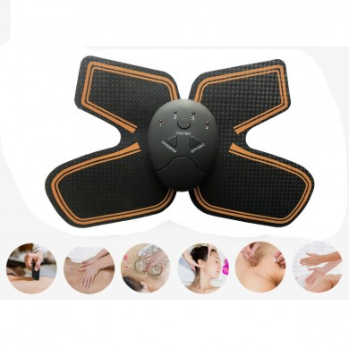 KALAOD Cou Masseur Patch Pâte Micro-courant Pulse Mulfunctional Mini Portable Body Muscle Massager