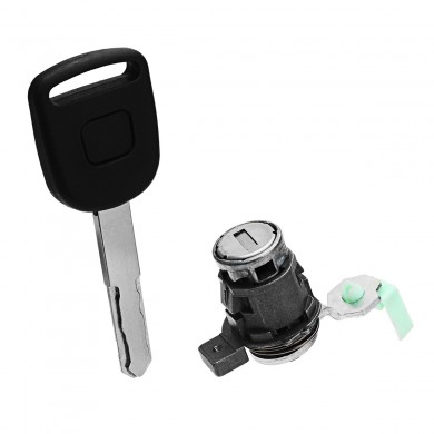Left Driver Side Door Lock Cylinder Key Aftermarket For Honda CR-V Element