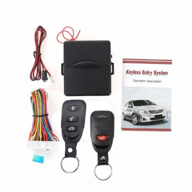 LB-406 L240-2 Car Keyless Entry System Remote Control Central Lock Kit