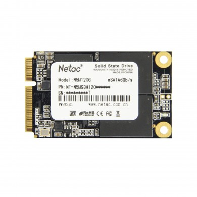 Netac SSD mSATA 60GB 120GB 240GB Solid Hard Drive MLC 6GB/S Max 501MB/S Read Speed Laptop Internal Solid State Drive For Compute