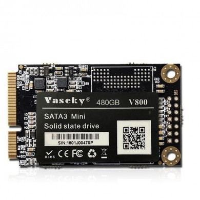 Vaseky V800 MSATA 256G 480G SSD Hard Drive MLC Internal Solid State Drive For Computer PC