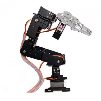 6DOF Robot Arm 3D Rotating Machine Kit for Arduino