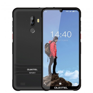 Oukitel Y1000 Global Version 6,088 Zoll HD + IP68 wasserdicht Android 9,0 3600 mAh 2 GB RAM 32GB ROM MT6580P Quad Core 1,3 GHz 3