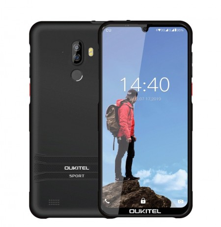 Oukitel Y1000 Global Version 6.088 inch HD+ IP68 Waterproof Android 9.0 3600mAh 2GB RAM 32GB ROM MT6580P Quad Core 1.3GHz 3G Sma