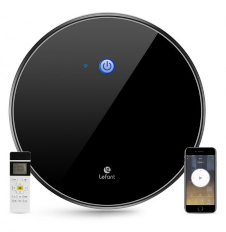 Lefant M520 2200Pa Strong Suction Robot Vacuum Cleaner Smart Mapping Works with Alexa and Google