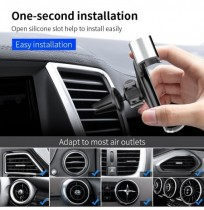 Floveme Gravity Linkage Air Vent Car Phone Holder 360 Degree Rotation For 4.7-7.0 Inch Smart Phone for iPhone for Samsung Xiaomi