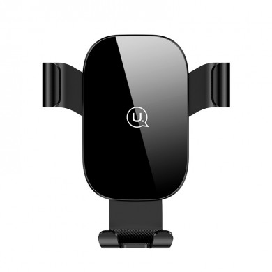 USAMS US-ZJ052 Universal Automatic Smartphone Car Air Vent Car Phone Holder for iPhone 11 Pro X XR XS Max 8 Plus for Samsung S9/