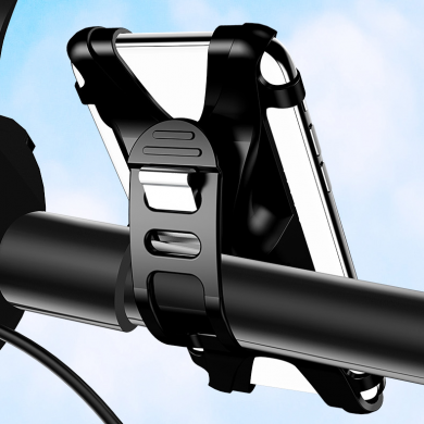 USAMS Bike Bike Motorbike Elastic Handblebar Phone Holder Para 4.0-6.0 Telefone Inteligente iPhone 11 Pro