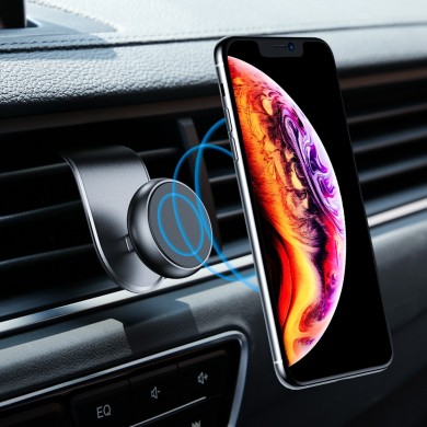 Floveme Upgrade L-shape Magnetic Air Vent Car Phone Holder For 3.5-7.0 Inches Smart Phone for iPhone 11 Samsung Galaxy Note 10+