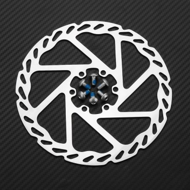 RAMBOMIL R5 160mm/140mm Aluminum Alloy Bike Cycling Brake Disc Mechanical Braking With Screws MTB