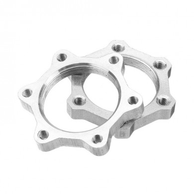 RAMBOMIL 44mm/48mm MTB Bike Bicycle Disc Brake Flange Tray Cycling Adapter Screw Thread Lock Nut Switch Disk Disc Tray Refires
