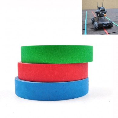 Visual Identity Tracking Tape Line Crepe Paper Expansion Parts For DJI Robomaster S1 RC Robot