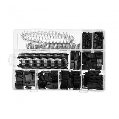 1450Pcs 2.54mm Dupont Jumper Connector Case with Terminal and Row Needle Kit for  & Raspberry PI