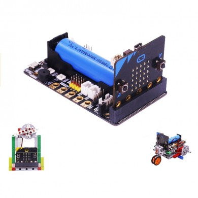 Yahboom Super:bit Expansion Board for Kids DIY Learning Educational Microbit Building Block Stem Robotic