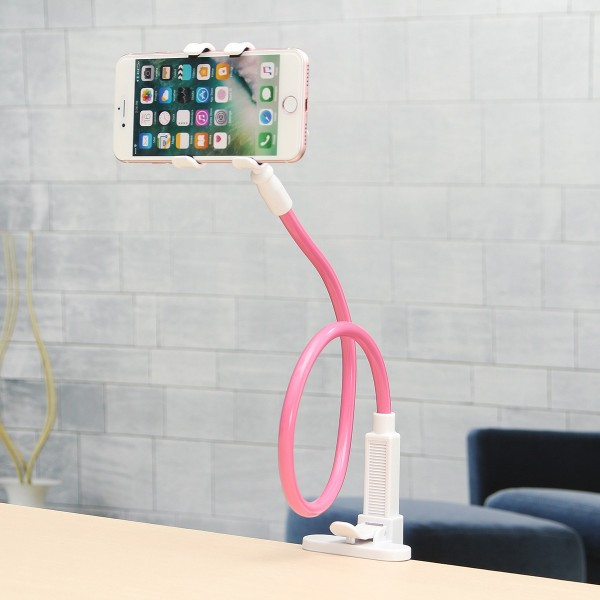 Universal Lazy Flexible Long Arms Bed Desk Mobile Phone Stand Holder Bracket for Samsung Xiaomi