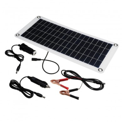 12W 18V Polysilicon Home Solar Power Panel Kits Battery Charger Charging