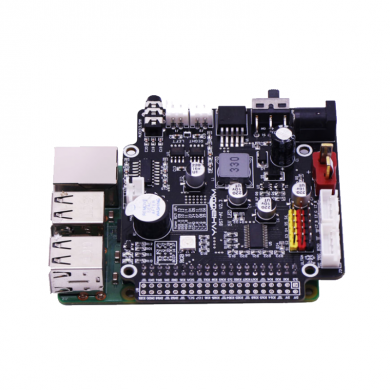 Yahboom Raspberry Pi Expansion Board for AI Visual Robot GPIO Voice Broadcast Motor Drive Multifunctional Driver Extension Board