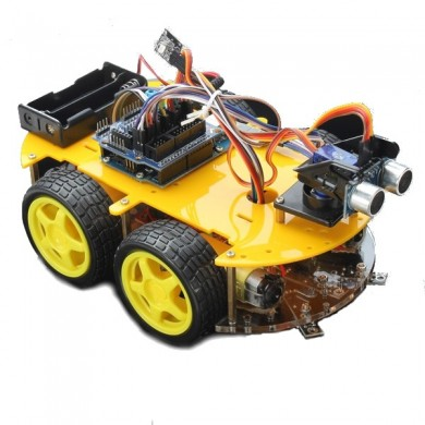 Multifunction Bluetooth Controlled Robot Smart Car Kits For