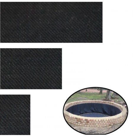 100Pcs Self Adhesive Pond Liner Tape Repair EPDM 150X100MM/150X200MM/150X300MM