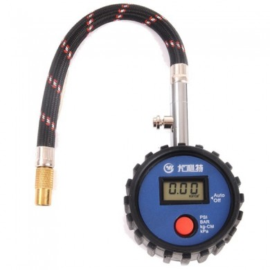 YD-6026A High-precision Auto Tire Gauge Tire Pressure Table