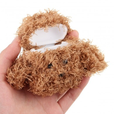 Teddy Dog Earphone Case Cute Protectiver Bag Storage Cover for Airpods