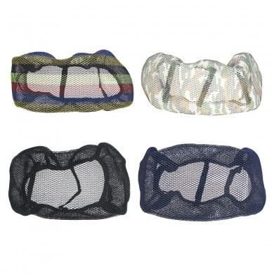 Motorcycle 3D Mesh Seat Cushion Cover Breathable Waterproof Flexible