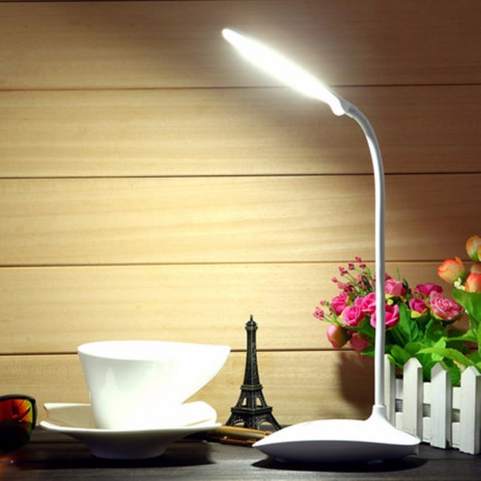 Flessibile usb ricaricabile dimmerabile led comodino for Lampada comodino led