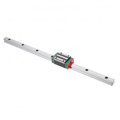 Machifit HGR15 100-1200mm Linear Rail Guide with HGH15CA Linear Rail Guide Slide Block CNC Parts