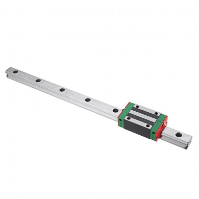 Machifit HGR20 100mm Linear Rail Guide with HGH20CA Linear Rail Slide Block CNC Parts