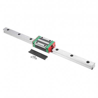 Machifit HGR20 400mm Linear Guide with HGH20CA Linear Rail Slide Block CNC Parts