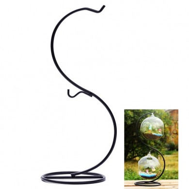 Micro Landscape Suspension S Shaped Hob Iron Rack Garden Decor