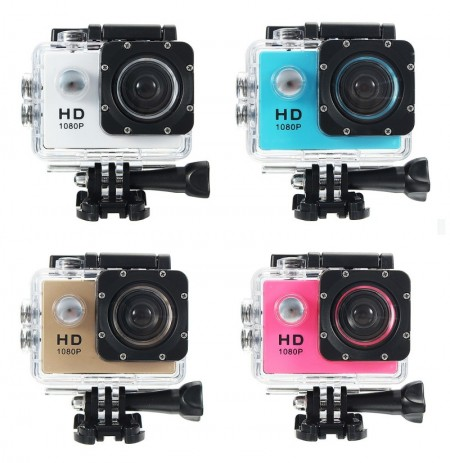 "140° Sport Video Camera Full HD Action Waterproof Camcorder DV DVR 2.0"" LCD"